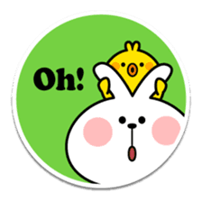 "Spoiled Rabbit ""Stickers"" sticker #10214844"