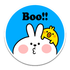 "Spoiled Rabbit ""Stickers"" sticker #10214846"