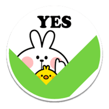 "Spoiled Rabbit ""Stickers"" sticker #10214848"