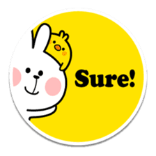 "Spoiled Rabbit ""Stickers"" sticker #10214849"