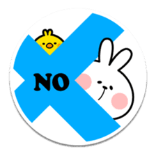 "Spoiled Rabbit ""Stickers"" sticker #10214850"
