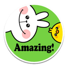 "Spoiled Rabbit ""Stickers"" sticker #10214852"