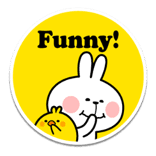 "Spoiled Rabbit ""Stickers"" sticker #10214853"
