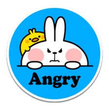 "Spoiled Rabbit ""Stickers"" sticker #10214854"