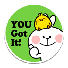"Spoiled Rabbit ""Stickers"" sticker #10214856"