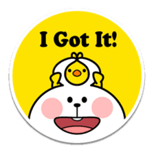 "Spoiled Rabbit ""Stickers"" sticker #10214857"