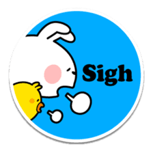 "Spoiled Rabbit ""Stickers"" sticker #10214862"