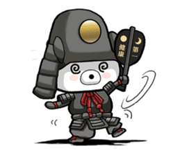 Bear became warlords. sticker #10217477