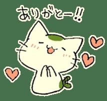 maccha-neko sticker #10218358