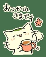 maccha-neko sticker #10218360