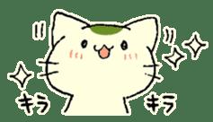 maccha-neko sticker #10218377