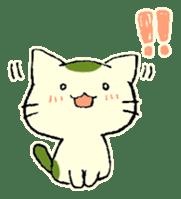 maccha-neko sticker #10218383