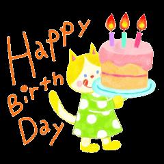 Birthday& congratulatory 2