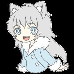 grey wolf girl