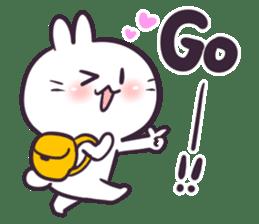 Bosstwo - Cute Rabbit POOZ(8) sticker #10226279