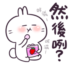 Bosstwo - Cute Rabbit POOZ(8) sticker #10226283