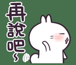 Bosstwo - Cute Rabbit POOZ(8) sticker #10226286