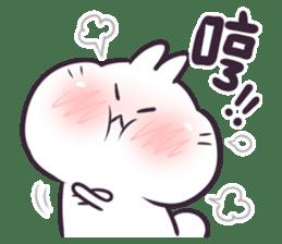 Bosstwo - Cute Rabbit POOZ(8) sticker #10226288