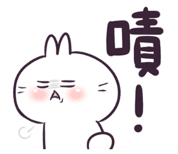 Bosstwo - Cute Rabbit POOZ(8) sticker #10226289