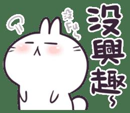Bosstwo - Cute Rabbit POOZ(8) sticker #10226295