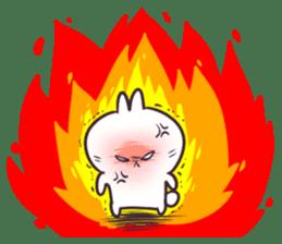 Bosstwo - Cute Rabbit POOZ(8) sticker #10226301