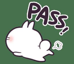 Bosstwo - Cute Rabbit POOZ(8) sticker #10226305