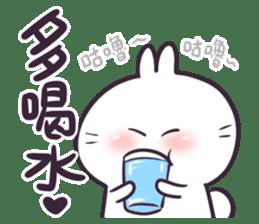 Bosstwo - Cute Rabbit POOZ(8) sticker #10226307