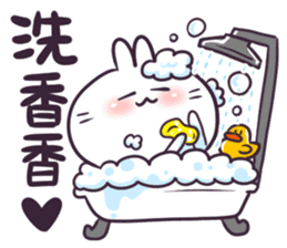 Bosstwo - Cute Rabbit POOZ(8) sticker #10226308