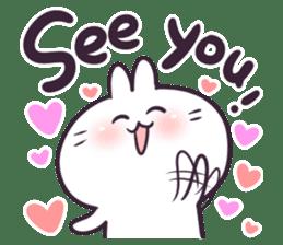 Bosstwo - Cute Rabbit POOZ(8) sticker #10226310
