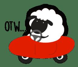 Sheepie sheep sticker #10230742