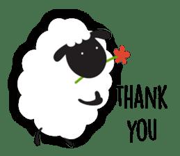 Sheepie sheep sticker #10230743