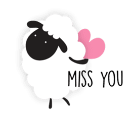 Sheepie sheep sticker #10230745