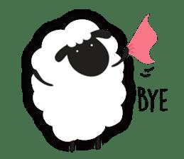 Sheepie sheep sticker #10230751