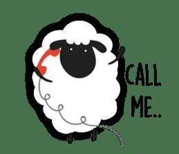Sheepie sheep sticker #10230755