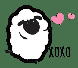 Sheepie sheep sticker #10230759