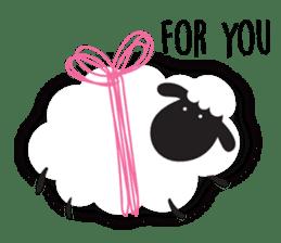 Sheepie sheep sticker #10230760