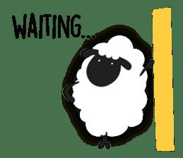 Sheepie sheep sticker #10230765