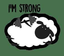 Sheepie sheep sticker #10230770