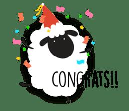 Sheepie sheep sticker #10230773