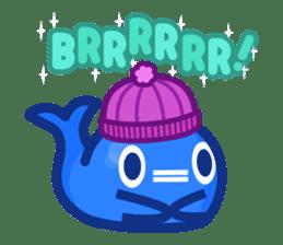 Kujira-chan vs. Geikatsu sticker #10235137