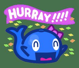 Kujira-chan vs. Geikatsu sticker #10235148