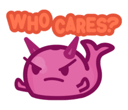 Kujira-chan vs. Geikatsu sticker #10235154