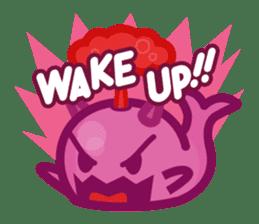 Kujira-chan vs. Geikatsu sticker #10235170