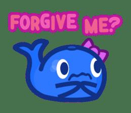 Kujira-chan vs. Geikatsu sticker #10235173