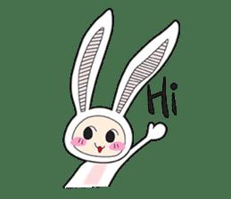 Doubi Bunny sticker #10235776