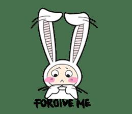 Doubi Bunny sticker #10235794