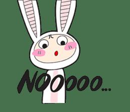 Doubi Bunny sticker #10235797