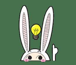 Doubi Bunny sticker #10235798