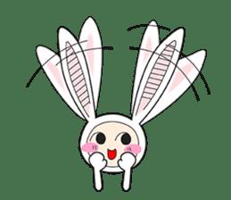 Doubi Bunny sticker #10235809