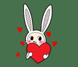 Doubi Bunny sticker #10235812